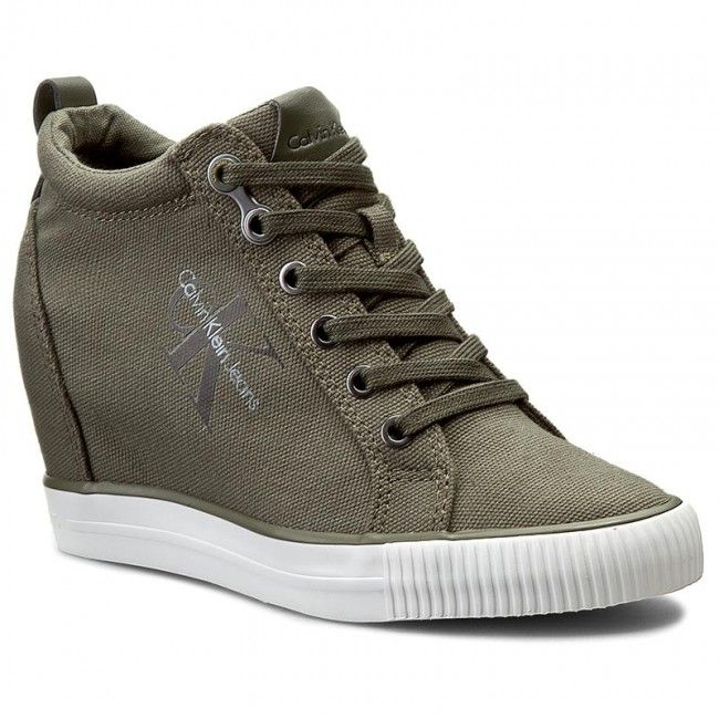 Sneakersy Calvin Klein Jeans Ritzy R3551 Military Calvin Klein Jeans Calvin Klein Calvin