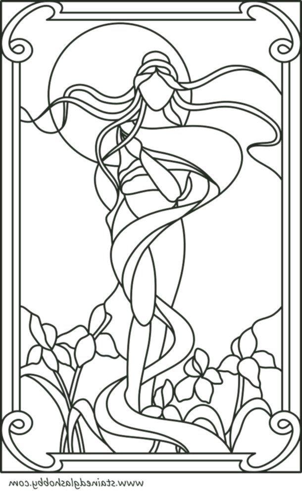 Glasmalerei Vorlagen Runde Elemente Fur Buntglasfenster 7