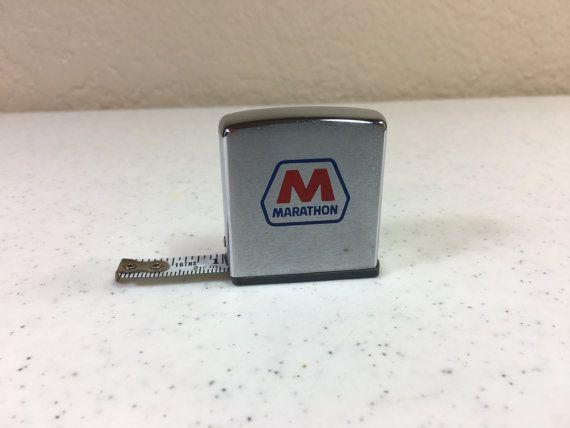 Vintage #Marathon Oil Company Zippo 77 Inch Tape by Oldtonewjewels