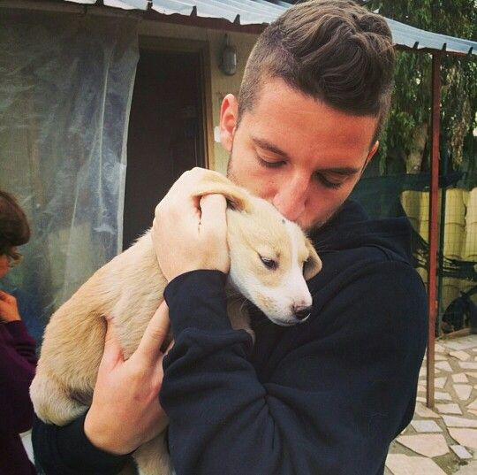 Dries Mertens.... And he loves puppies