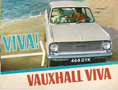 Vauxhall Viva HA 1963-64 UK Market Foldout Sales Brochure Standard De Luxe | eBay