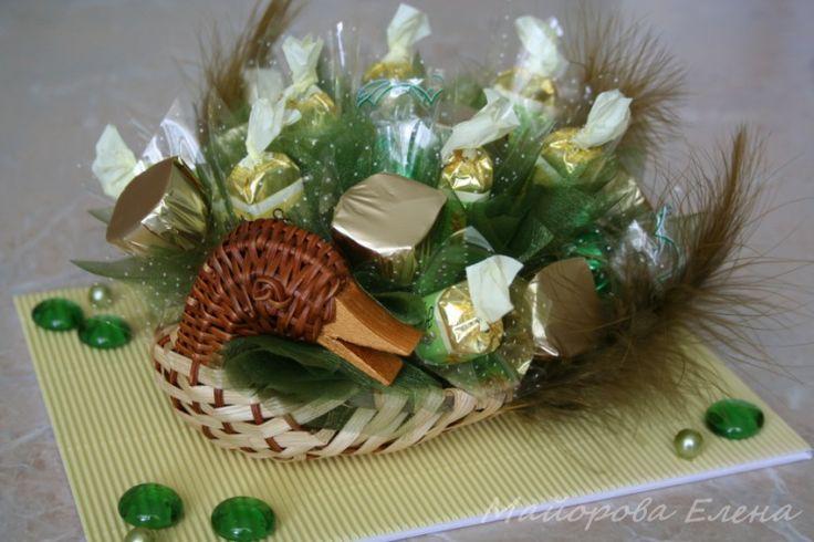 "Gallery.ru / Фото #11 - Букеты из конфет в Муроме ""Букеты на Пасху"" - may-present"