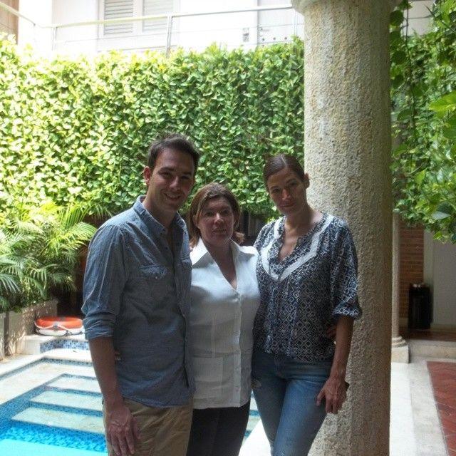 Huéspedes estrella Kathy Saenz y Sebastian Marínez