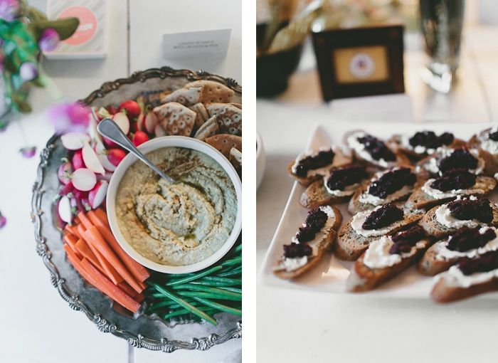 Hummus and Goat Cheese Crostini with Olive Tapenade | The Yellow Table ...