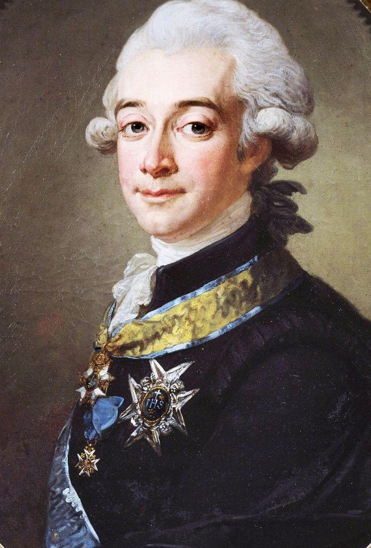 Lorenz Pasch the Younger: Portrait of the Swedish Count Hans Axel von Fersen, date unknown.