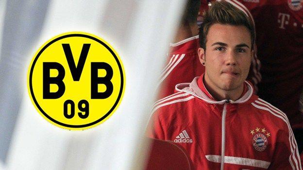 Vuelve Mario Götze al Borussia Dortmund