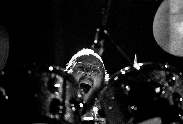 Gentle Giant, Musikhalle Hamburg, April 1974: John Weathers (dr)
