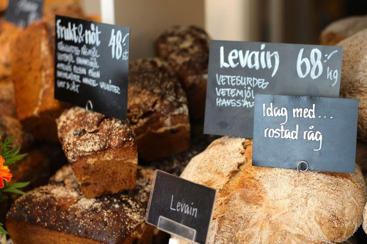 Bread from Rosendahls Trädgård in Stockholm. Photo by: Linda Wenneson