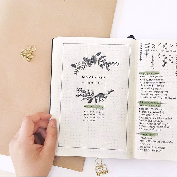 "1,614 Likes, 45 Comments - Emma (bullet journal) (@thestudybujo) on Instagram: ""My November cover page! ________________________________ Codes! use STUDYBUJO for 15% off…"""