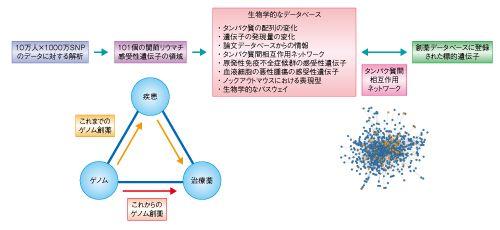 関節リウマチに対する新たなゲノム創薬の手法