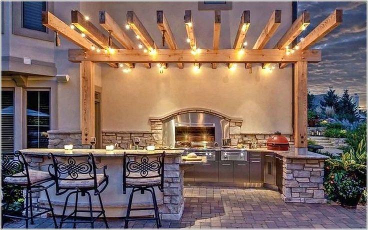 25 Inspirierende Ideen für die Outdoor-Küche im Außenbereich #outdoorkitchendesignsideas   – Stacy Detty