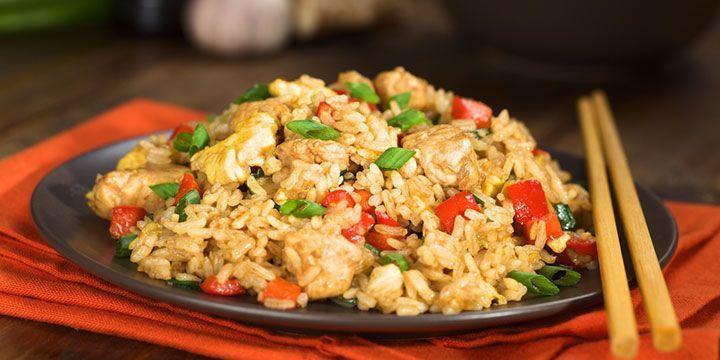 KochAbo.at - Gebratener Reis mit Putenstreifen