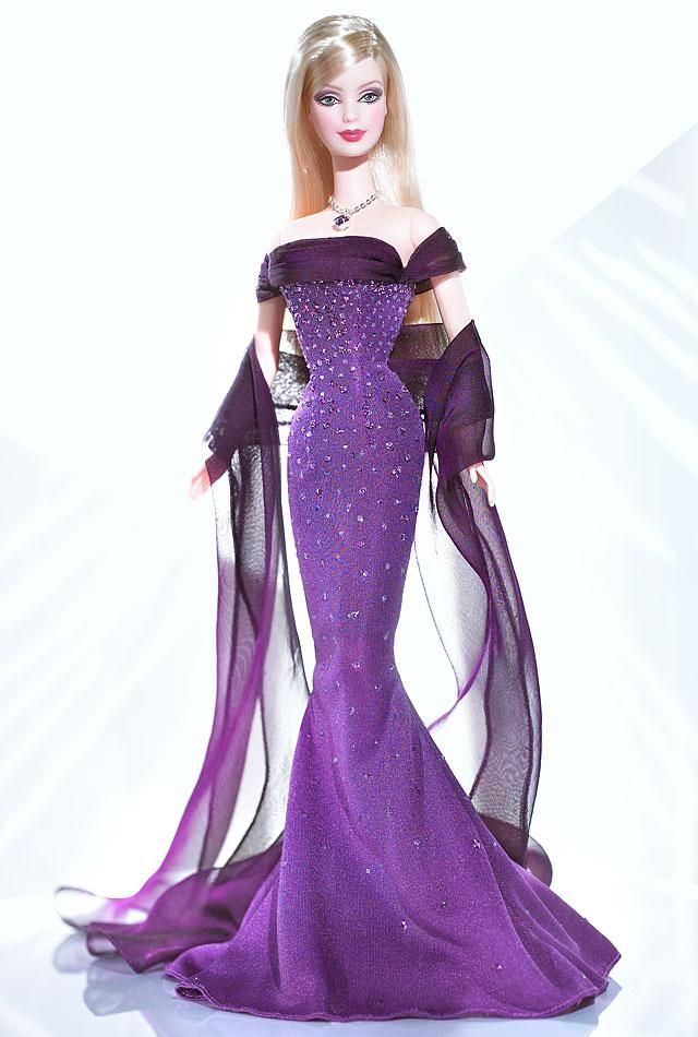 February Amethyst Barbie. Collector Edition. PC:C5332. (Declan's BS.)