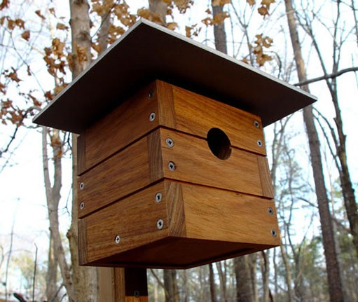 17 Best Images About Modern Birdhouses On Pinterest