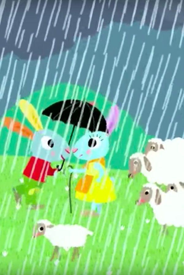 """VIDÉO : """"Il Pleut, Il Pleut, Bergère…"""" Une #comptine à"""