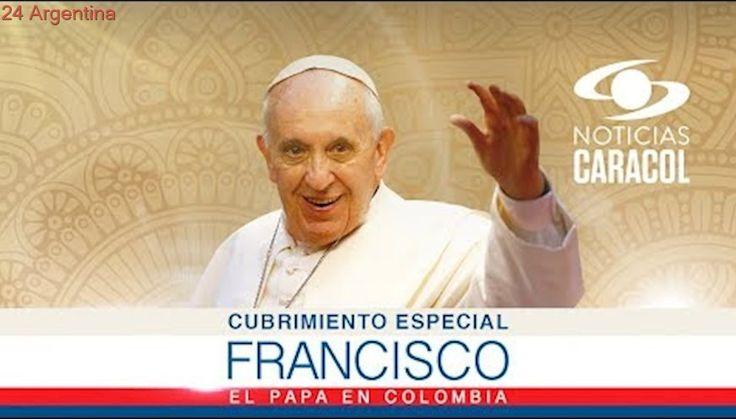 Llegada del Papa Francisco a Colombia - #ElPapaEnColombia Transmisión en vivo desde Bogotá
