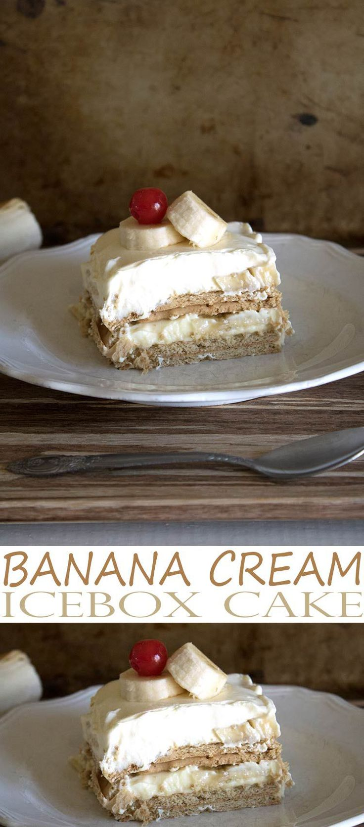 Banana Cream Dessert is a simple icebox cake recipe that is easy to throw together with ingredients you likely already have in your pantry. You'll love this banana no-bake dessert recipe.
