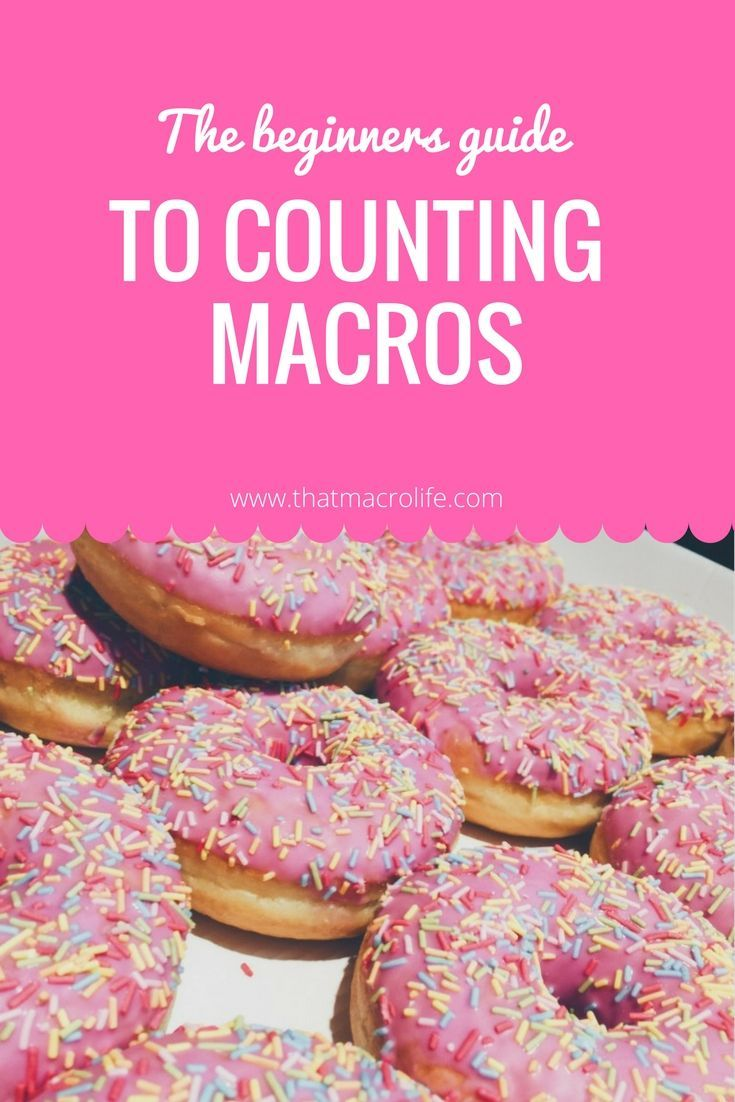 The beginners guide to counting macros. Learn about tracking macros, iifym or flexible dieting for weight loss, fat loss and muscle gain and why you should be doing it! www.thatmacrolife.com
