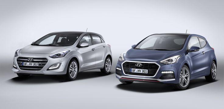 2015 Hyundai i30 facelift gains dual-clutch transmission, 137kW Turbo variant - http://www.caradvice.com.au/324392/2015-hyundai-i30-facelift-gains-dual-clutch-transmission-137kw-turbo-variant/