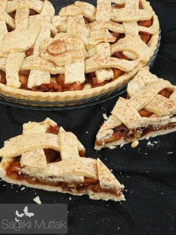 elmalı tart / sağlıklı mutfak