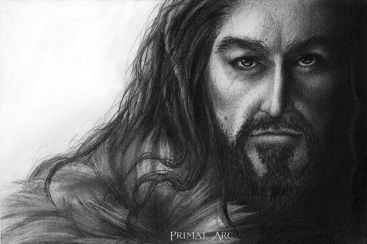 'King Under the Mountain', pencil. www.primalarc.com