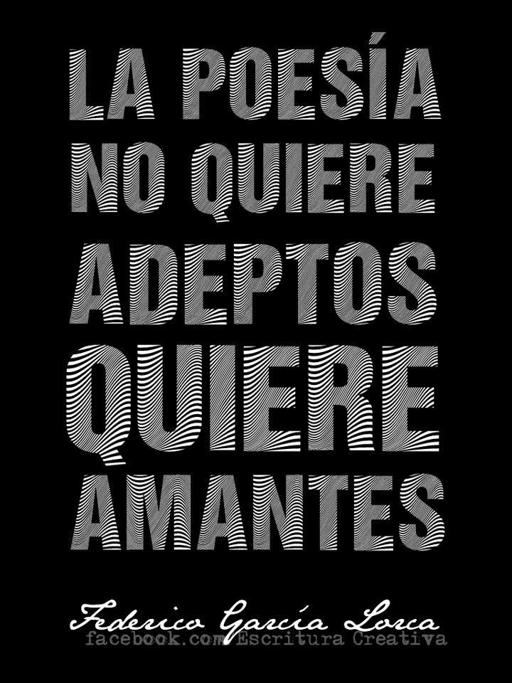 Federico García Lorca  #Frases #Quotes