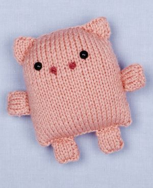 Loom Knit Pig