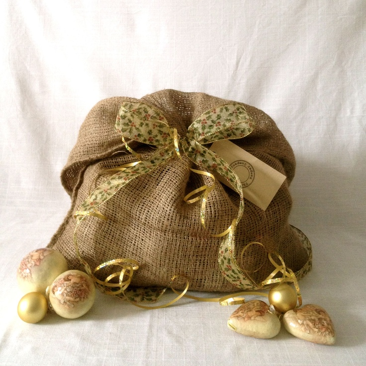 "Lady gardener Christmas sack ... ""Stocking"" ... full of gardening gifts that will delight! http://www.thecleverhampercompany.co.uk/#!shop/vstc1=-lady-gardener"