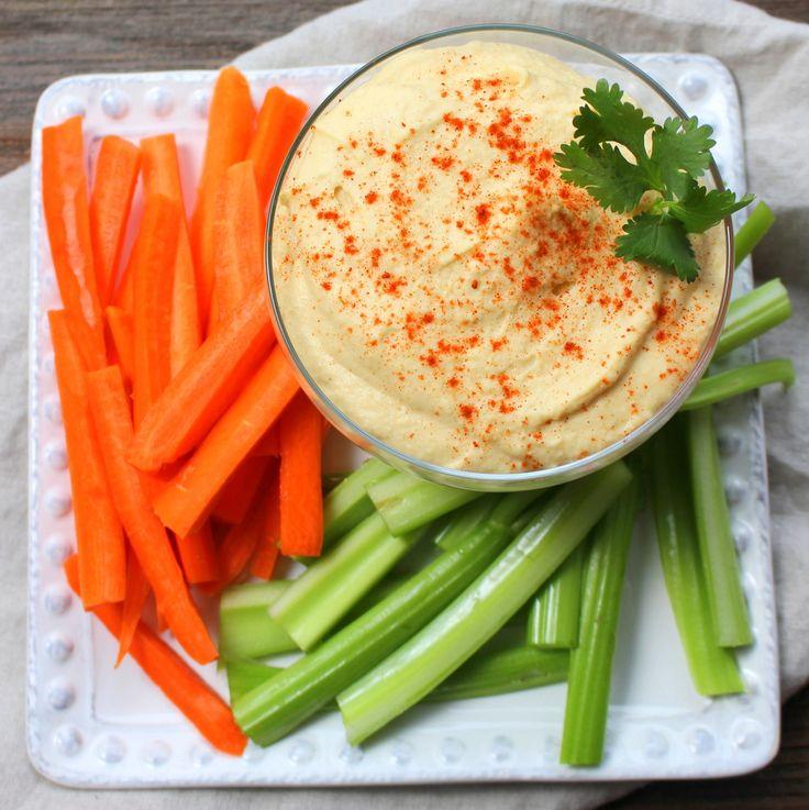 Lighter Garlic Hummus- 3 weight watchers smart points