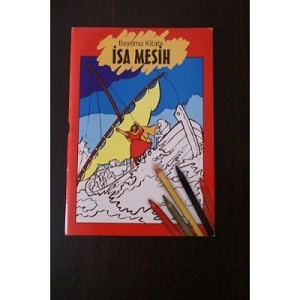 Isa Mesih Boyama Kitabi / Turkish Bible Activity book for Children about Jesus