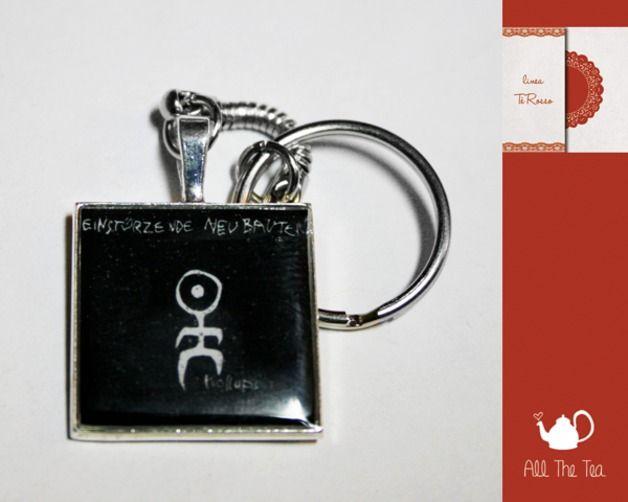 Portachiavi - Portachiavi cammeo album - Kollaps - un prodotto unico di AllTheTea su DaWanda #handmade #jewelry #accesories #DIY #ideas #gifts #vintage #unique #resin #glass #cabochon #buttons #keyring #charms #chain #cameo #indie #hipster #indierock #indiepop #alternative #alternativerock #album #art #cover #cd #music #teaparty #tealove #portachiave #medaglione #ciondolo #resina #vetro #musica #gruppi #gruppimusicali #copertina #fan #fanart #kollaps #EinstürzendeNeubauten