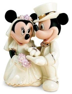 Disney Wedding Cake Toppers- I want a Donald and Daisy one!