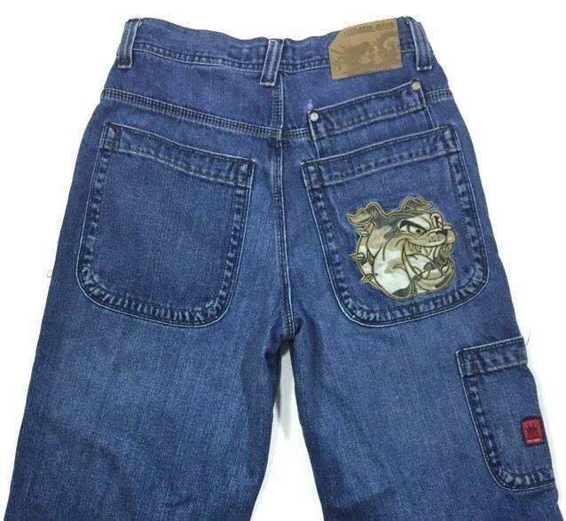 Mens Baggy Fit Jeans