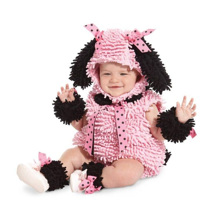 Pink Poodle Infant / Toddler Costume   halloweenideasforwomen - 18 month halloween costume ideas