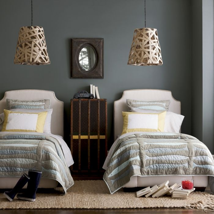 17 best images about twin beds on pinterest guest rooms for Guest room with twin beds