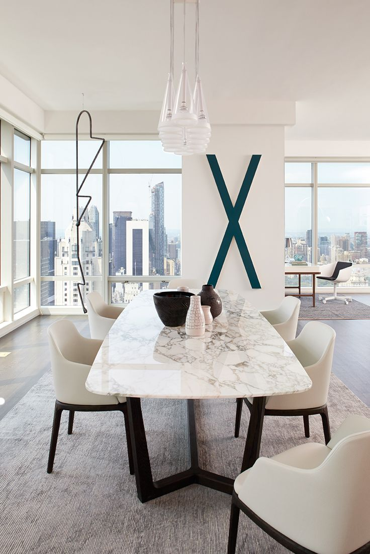 Wood dining with wrought iron quot clasp quot base very popular dining - Interior Design By Tara Benet Marble Dining