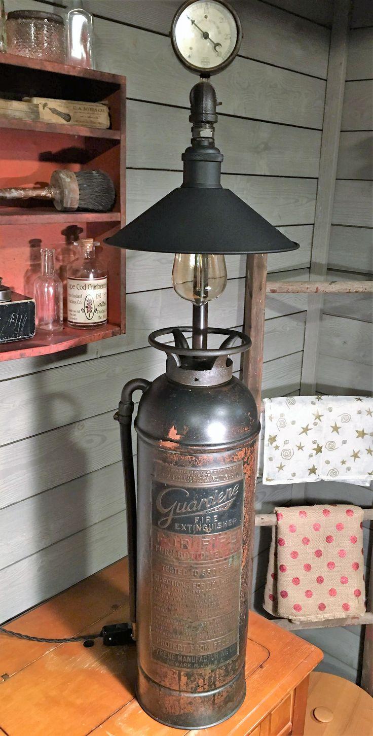 Antique Brass Lamp Makeover