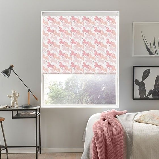 Yes! Unicorn Pink Roller Blind