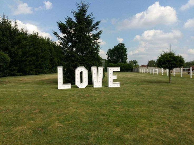 LOVE Led Letters Light Up Wedding Napis LOVE z lampami led! www.smart-line.pl