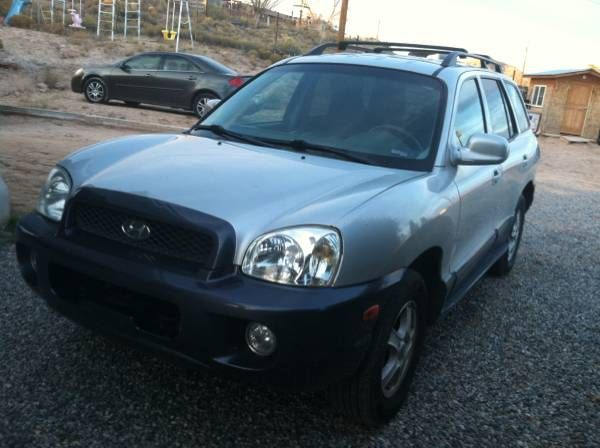 2003 Hyundai Santa Fe AWD: 2003 Hyundai Santa Fe condition: excellentcylinders: 6 cylindersdrive: 4wdfuel: gasodometer: 95000paint color:…