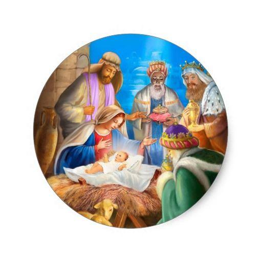 Nativity or Jesus x-mas image for christmas cards