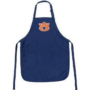 Auburn Apron College Logo Blue Auburn Tigers TOP RATED for Grilling, Barbecue, Kitchen and Cooking Best Unique Gifts for a Man, Men, HIM HER Women, Ladies. GIFT IDEA! (Misc.)  http://documentaries.me.uk/other.php?p=B004FNTAYA  B004FNTAYA