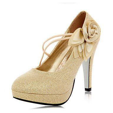 Suede Women's Wedding Stiletto Heel Platform Heels Shoes(More Colors) – EUR € 32.99