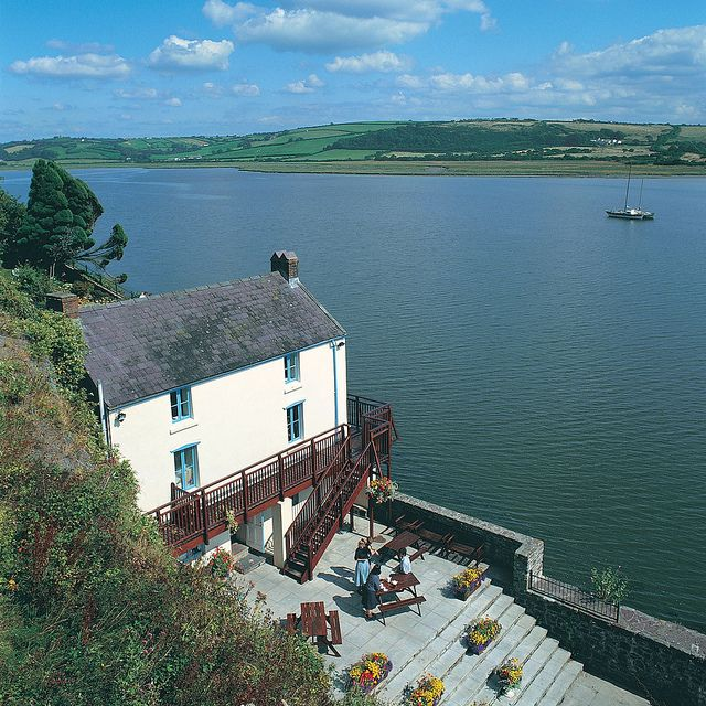 Dylan Thomas' Boathouse, Laugharne, Carmarthenshire, Wales  For  Mom, Dad, Andrew and Laura : memories