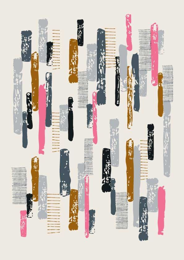 Line Print No1, limited edition giclee print. $25.00, via Etsy. Eloise Renouf