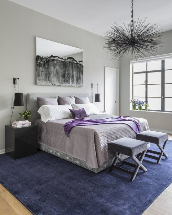 Purple Modern Master Bedroom 1181 best purple images on pinterest | beautiful homes