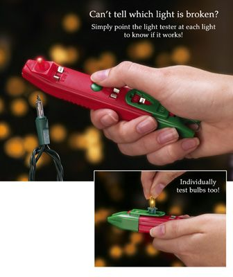 Christmas Light Tester - Stop stressing over burned out Christmas Lights forever!