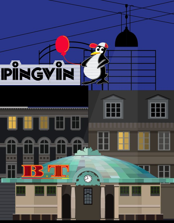 Trianglen - I miss the penguin! - illustration #Sivellink