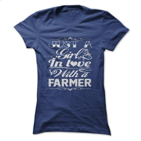 In love with a farmer - #pink hoodies #make t shirts. MORE INFO => https://www.sunfrog.com/LifeStyle/-In-love-with-a-farmer.html?60505