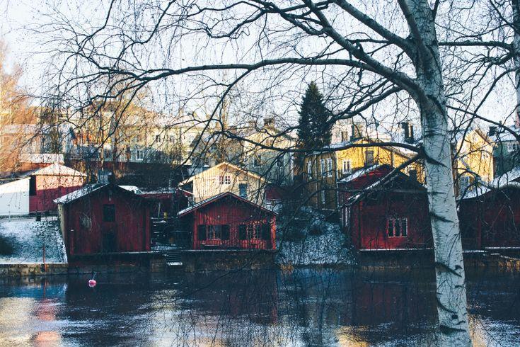 porvoo in the winter